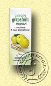 Grapefruit cseppek ginsenggel Dr. Chen 30 ml