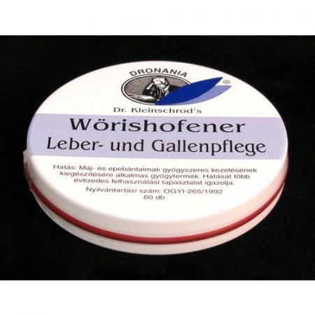 Leber & Gallen Máj-Epe tabletta wöris 60x