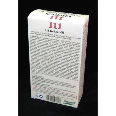 111 gyógynövény olaj 100 ml