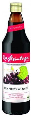Dr Steinberger piros szőlőlé bio 750 ml