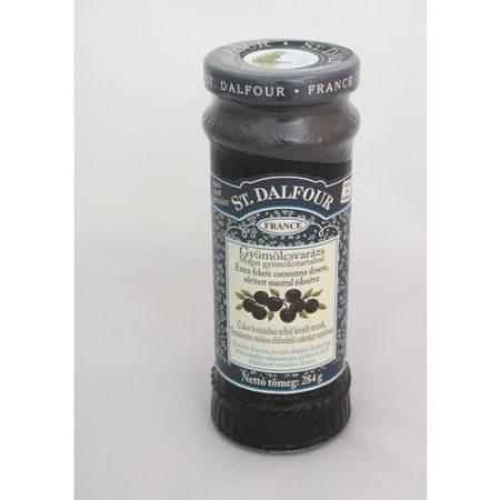 St.Dalfour Fekete cseresznye lekvár 284 g