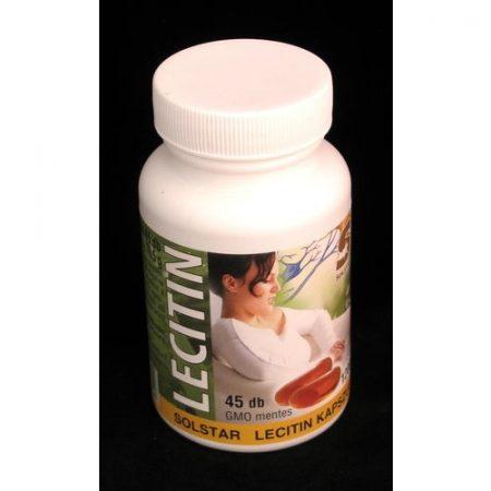 Lecitin kapszula Solstar 1200 mg 45x
