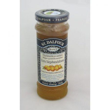 St.Dalfour Sárgabarack gyümölcsvarázs lekvár 284 g