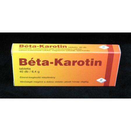 Béta-karotin tabletta 40x