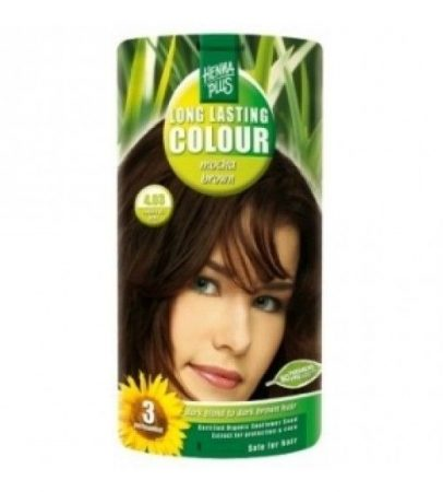Henna plus hajfesték L.L. növényi 90 mokka barna 4.03