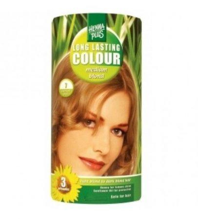 Henna plus hajfesték L.L. növényi 84 közép szőke 7