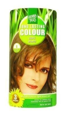Henna plus hajfesték L.L. növényi 85 sötét szőke 6