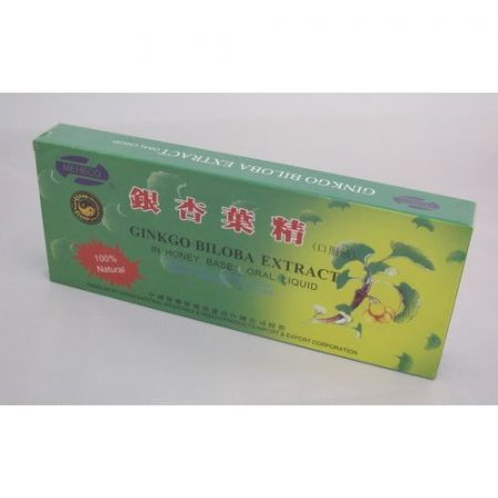 Ginkgo Biloba extract ampulla 10x10 ml Dr. Chen