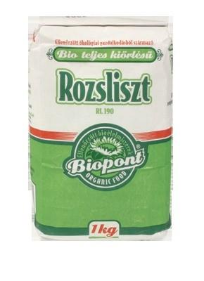 Biopont Rozsliszt bio teljes kiőrlésű RL190 1 kg