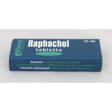 Raphacol tabletta 30x