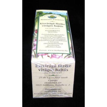 Kisvirágú füzike filteres 25x1g Herbária 25 g