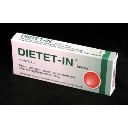 Dietet-in tabletta 40x