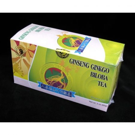 Ginseng ginkgo és zöld tea keverék 20x3 g Oriental 60 g