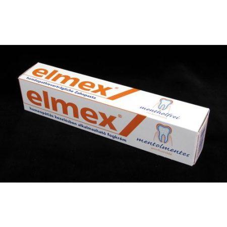 Elmex fogkrém mentolmentes 75 ml