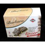 Barbara gluténmentes kajszibarack ízű kakaós vaníliás linzer 180 g