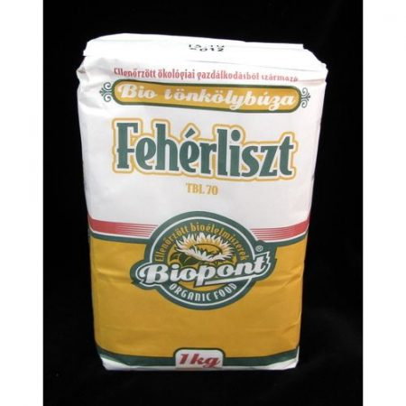 Biopont tönkölybúzaliszt bio fehér TBL70 1 kg