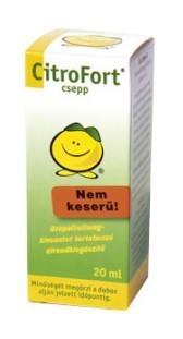 Grapefruit mag kivonat Citrofort zöld 20 ml