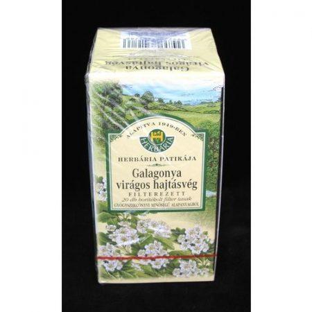 Galagonya tea filteres boritékolt 20x1 g Herbária 20 g