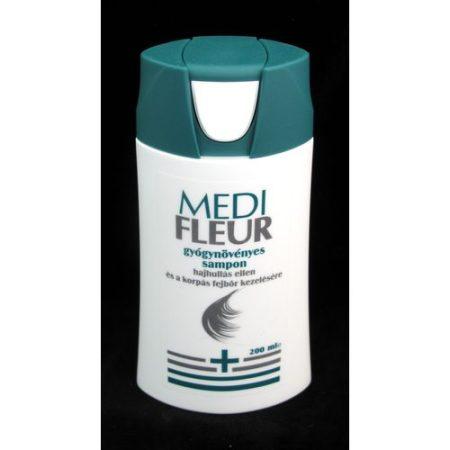 Medifleur sampon gyógynövényes hajhullás, korpásodás ellen 200 ml