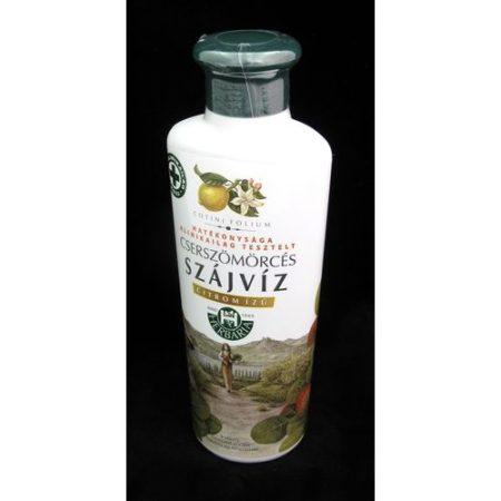 Cserszömörcés szájvíz citrom ízű herbária 250 ml