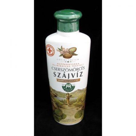 Cserszömörcés szájvíz mandula ízű Herbária 250 ml