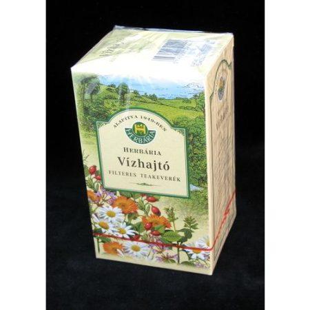 Vízhajtó teakeverék filteres Herbária 20x1.5 g 37.5 g