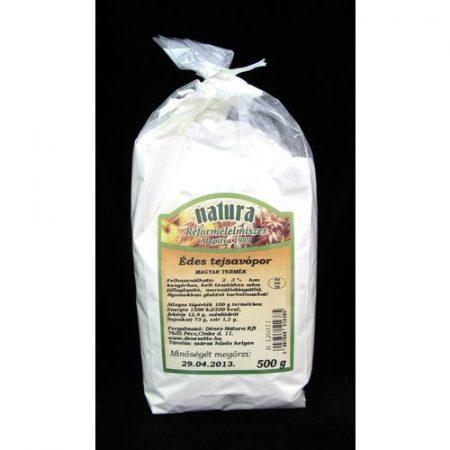 Tejsavópor édes Natura 500 g