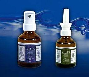 Salvus gyógyvíz permet orrspray feltéttel zöld 50 ml