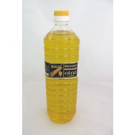 Solio hidegen sajtolt kukoricacsíra olaj 1 l