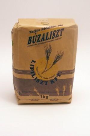 Búzaliszt teljes kiőrlésű bio Lipiliszt 1 kg