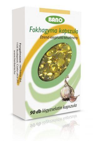 Bánó-féle fokhagyma kapszula 270 mg 90x