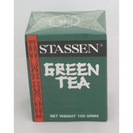 Stassen szálas zöldtea ceyloni 100 g