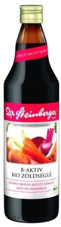 Dr Steinberger zöldséglé 100% B-aktív bio 750 ml