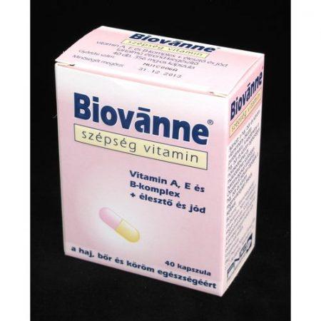 Biovanne szépség vitamin kapszula 40x