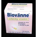 Biovanne szépség vitamin kapszula 100x