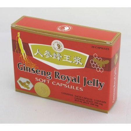 Ginseng royal Jelly kapszula Oriental Dr. Chen 30x