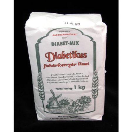 Diabetikus kenyérliszt fehér Diabet-mix 1 kg