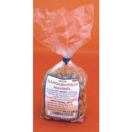 Sárgabarack magbél natúr B17 vitamin keserű 100g