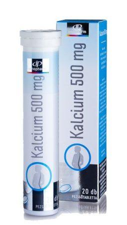 Innopharm pezsgőtabletta calcium 500 mg 20x