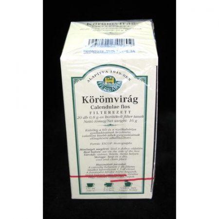 Körömvirág tea filteres borítékolt 20x0.8g/H 20x