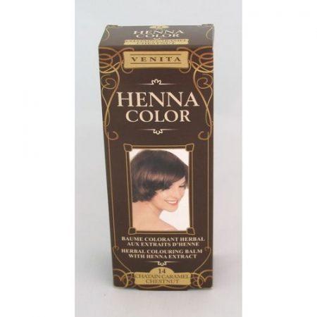 Henna color krémhajfesték 14 gesztenye barna 75 ml