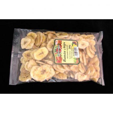 Aszalt banán chips Naturfood 200 g