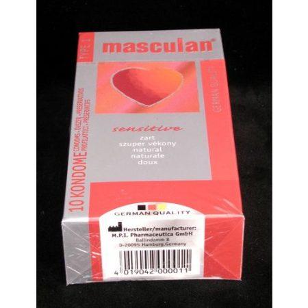 Óvszer Masculan 1-es szuper vékony piros 10x