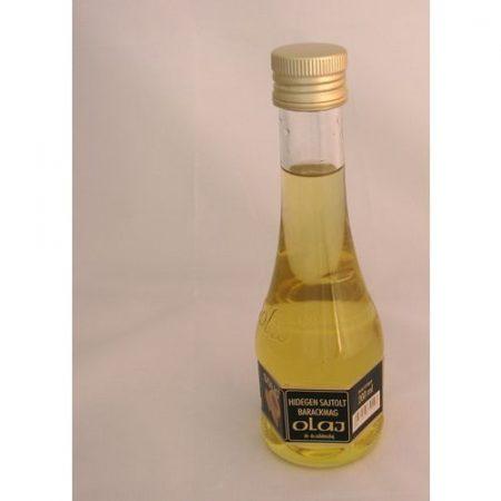 Solio hidegen sajtolt barackmag olaj 200 ml.