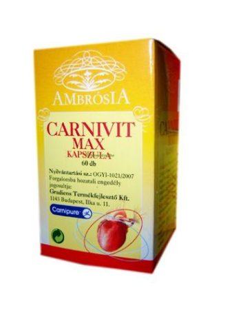 Carnivit max kapszula ambrosia 60x