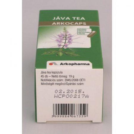 Arkocaps Jáva tea kapszula 45x