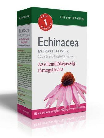 Echinacea extraktum kapszula Interherb Napi 1 30x