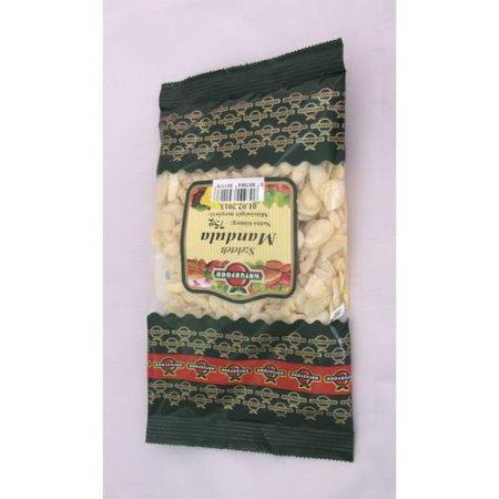 Mandula szeletelt naturfood 75 g