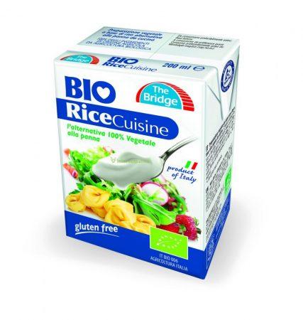 The bridge bio tejszín rizskrém 200 ml
