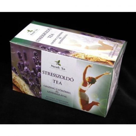 Mecsek stresszoldó tea ginseng gyökér és levendula 20x
